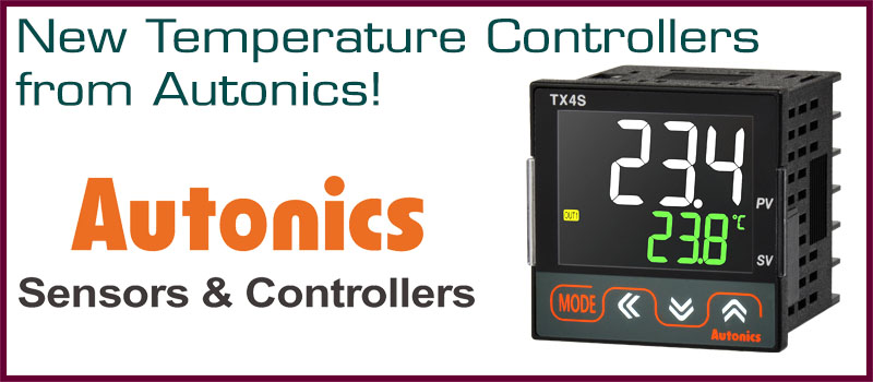 New Temperature Controllers from Autonics!