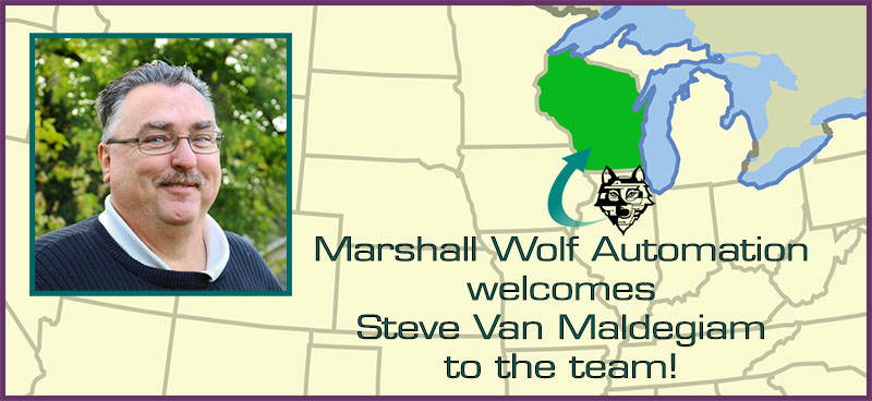 Marshall Wolf Automation has a new outside sales rep!