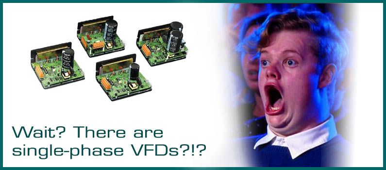 Wait? There are Single-Phase VFDs? | Wolf Automation on