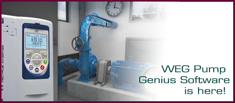 Why is WEG Pump Genius Software desired?