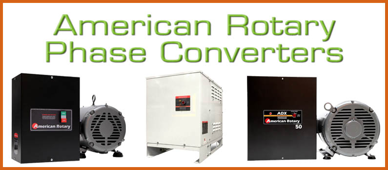 American Rotary Phase Converters at MWA | Wolf Automation