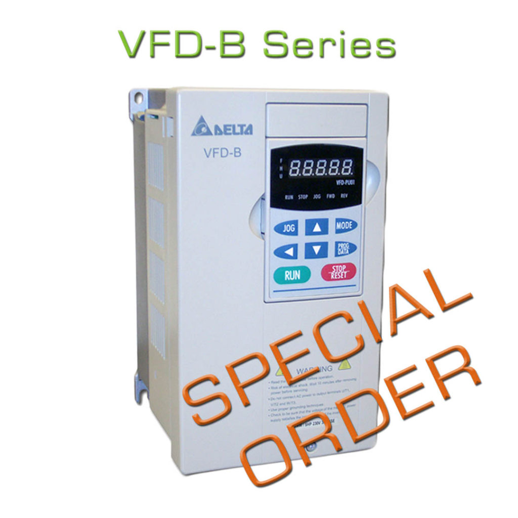 Where are Delta's VFD-S/M/B Series Drives? | Wolf Automation