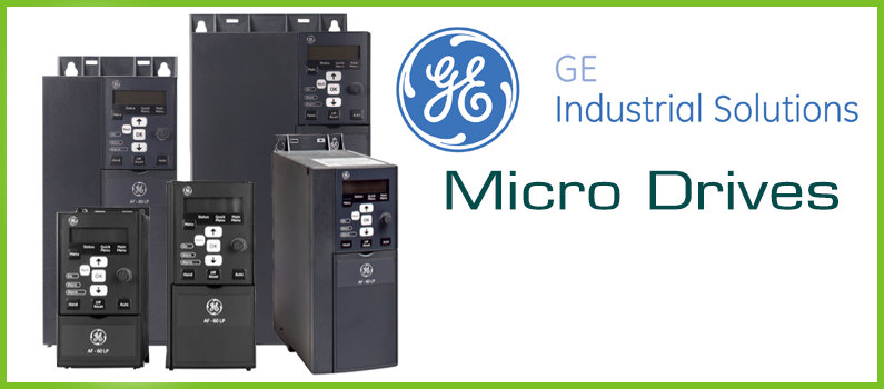 GE Industrial's Micro Drives