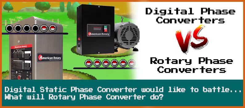 Digital Static vs Rotary Phase Converter