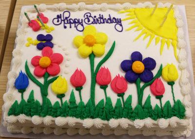 Oh spring cake...