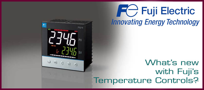 What's new and improved with Fuji's PXF Temperature Controller?