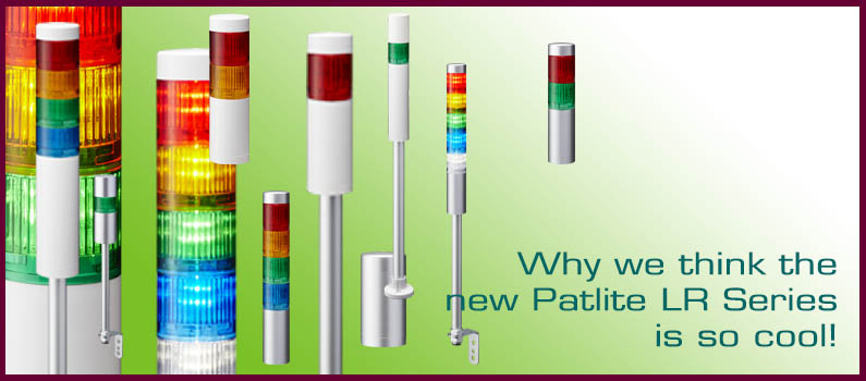 Why We Think The New Patlite LR Light Tower is So Cool!