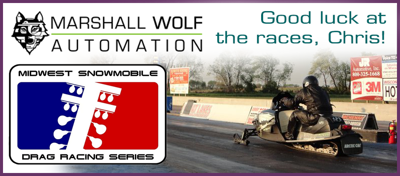 Marshall Wolf Automation sponsors motorsports?