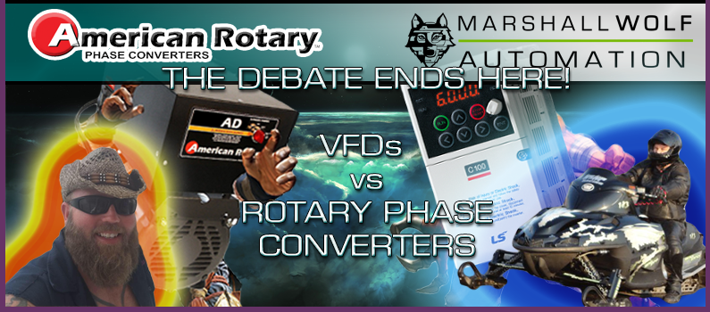 A real down and dirty debate about VFDs vs Rotary Phase Converters