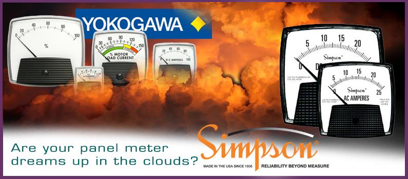 Looking for a Yokogawa Big Look panel meter?