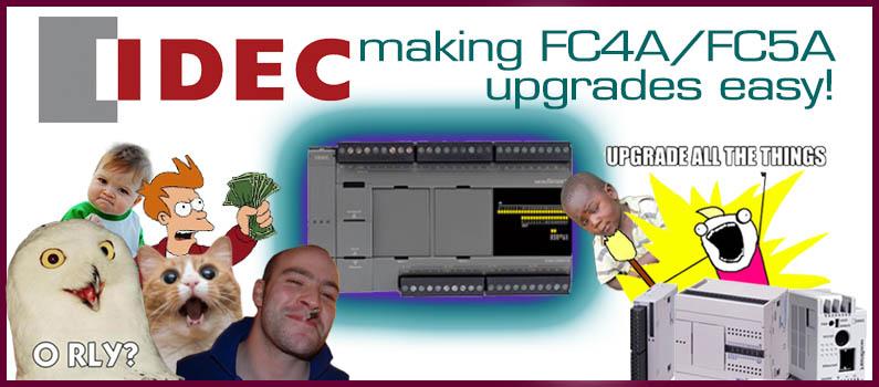 Still Using Idec FC4A-C or FC5A-C?
