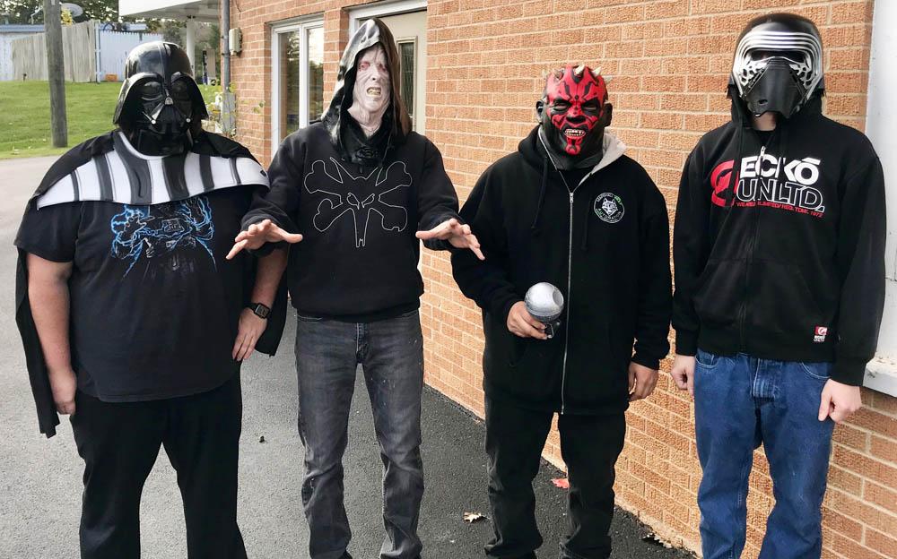 "The Panel Shop guys...aka ""The Dark Side"""