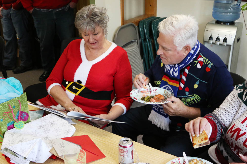 Christmas Lunch...with ugly sweaters!