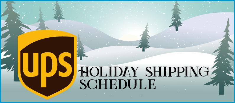 UPS Holiday Delivery Schedule