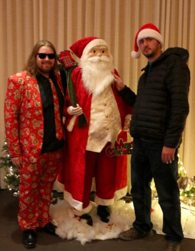 Alec, Santa & Jonny