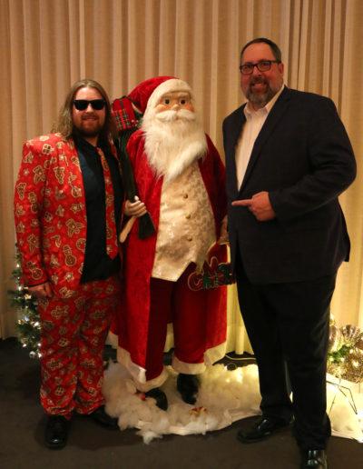 Alec,  Santa & Marc