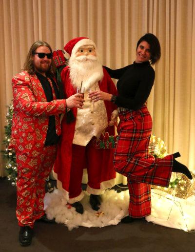 Alec, Santa & Tina