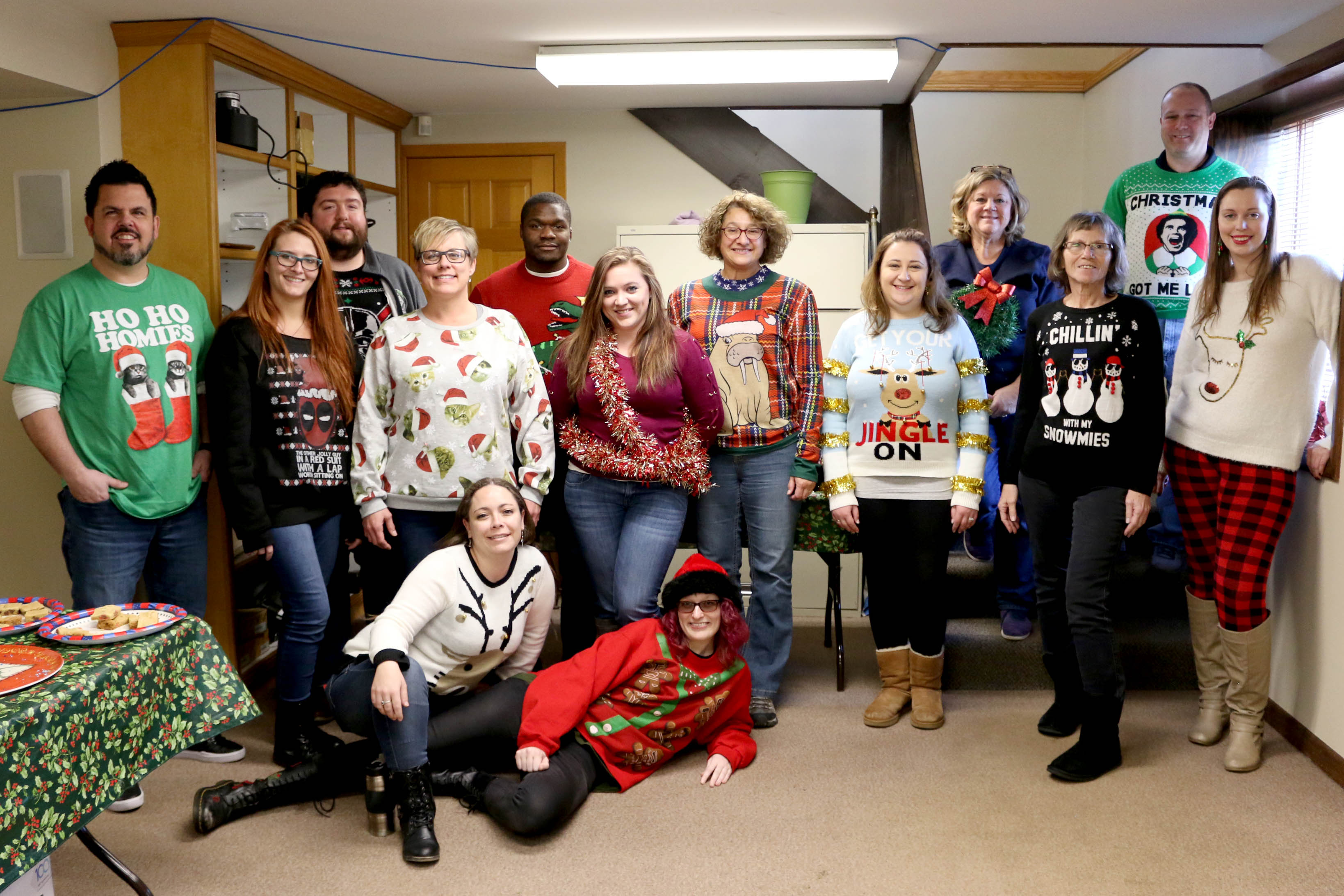 Ugly Sweaters Galore!