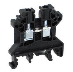 CTS4U-N/BL Terminal Block, 6x45x43mm, 35 Amp, 600V, Black,Fee