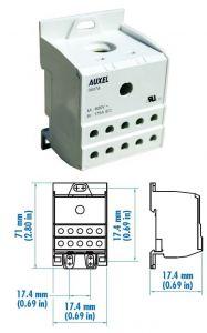 38076 Power Distribution Block, One Phase, 115 Amp,Singl