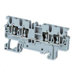 CX2.5/4 Terminal Block, Grey, Standard, 50 Piece Minimum O