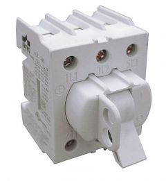 KUE363 Disconnect Switch, Toggle Handle, 60 Amp,No Cover