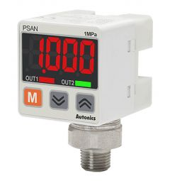 PSAN-L1CH-NPT1/8 Pressure Sensor, Fluid Type, Standard pressure, Co