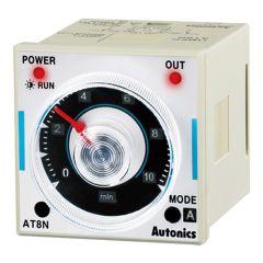 AT8N Timer, Analog, DPDT, 6 Mode. 100-240VAC/24-240VDC,