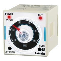 AT11DN-1 Timer, Analog, 6 Mode, 12VDC, DPDT,Socket (PG11 or