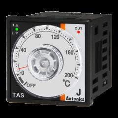 TAS-B4RJ2F Temp Control, 48x48mm, DIN, Relay, 32-392°F,IC, 10