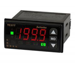TC3YT-B4R16 Temp Control, T/C or RTD In, 16 Amp,Relay Output,