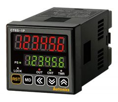 CT6S-1P2 Counter/Timer, 6-Digit, 1-Stage Preset, 48x48mm,DI