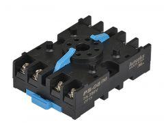 PS-08 Socket, 8-Pin, DIN Rail Mount