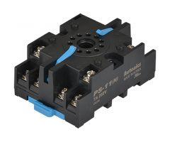 PS-11N Socket, 11-Pin, DIN Rail Mount, w/ Clip