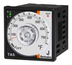 TAS-B4RJ4F Temp Control, 48x48mm, DIN, Relay, 32-752°F,IC, 10