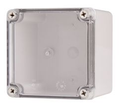 "BC-ATS-121210 Enclosure Lift Off Cover ABS Clear 4.92×4.92×3.94"""