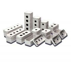 BC-CGS-2202 Enclosure, PB/Switch Box, Ø22mm, Polycarbonate, 2
