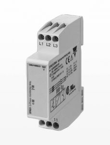 DPA51CM44 Monitoring Relay, 3-Phase, 208-480VAC, 5A, SPDT,17
