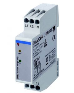 DPA52CM44 Monitoring Relay, 3-Phase, 208-480V, 17.5mm Width,