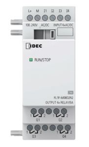 FL1F-M08D2R2 Expansion Module, 4 In 4 Out 24 VAC/DC, Use with F