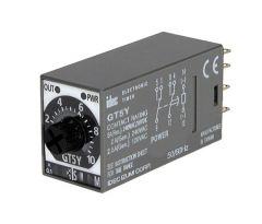 GT5Y-2SN6A100 Timer, On Delay DPDT, Power On Trigger, 5A, 120VAC