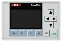 FL1F-RD1 Text Display Panel, 2 RJ45 Ethernet Ports, Use wit