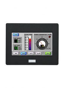 """HG1G-4VT22TF-B HMI, Black Bezel, 4.3"""" TFT, 65K, 12-24VDC, Serial,"""