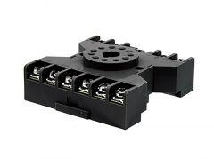 SR3P-06 Socket, 11-Pin, Screw Terminal, Surface Mount, Use
