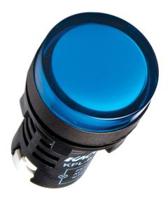 KPL-B-110VAC Pilot Light, Ø22mm, Round, Blue LED, 110VAC,IP65,
