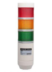 PRE-302-RYG Light Tower, Ø56mm, Steady, LED, 24VAC/DC, RYG,Lea