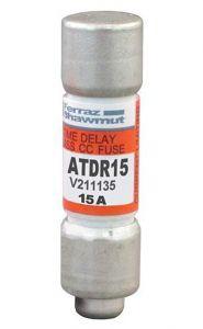 ATDR15 Fuse Amp-Trap Class CC, Motor Duty, 600V, 15A, IEC