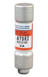 ATDR2 Fuse Amp-Trap Class CC, Motor Duty, 600V, 2A, IEC