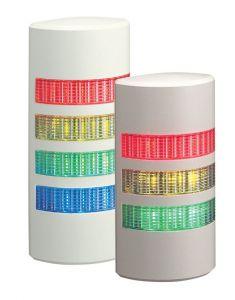 WEP-302FB-RYG Light Tower, Slim, 37.5mm Profile, Buzzer, RYG,24V