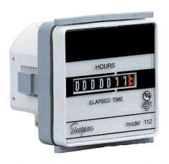 03622 Elapsed Time Meter, 10-80VDC, 120VAC, 1112ET Model